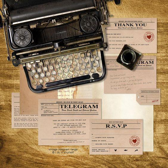 Покана телеграма
