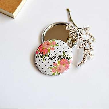 Джобно огледалце подарък за шаферка на сватба  в Gifty.BG