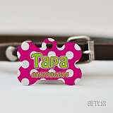 Цветни метални табелки за куче за подарък в Gifty.BG