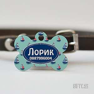 Медальон за куче с неговото име и телефон