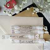 Любовта е сладка - сапунени балончета за сватба