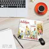 Подложка за мишка със снимка и цитат, послание за подарък в Gifty.BG