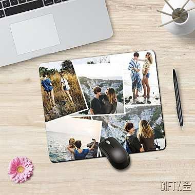 Подложка за мишка по поръчка с ваши снимки за подарък от Гифти.бг