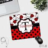 Подложка за мишка с калинки и име по избор за подарък в Gifty.BG