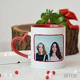 Чаша с Infinity за приятелки завинаги за подарък