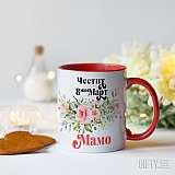 Чаша с цветя за 8 март