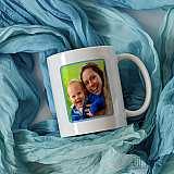 Чаша  с надпис - Само най-добрите съпрузи биват повишени в татко за подарък от Гифти.бг