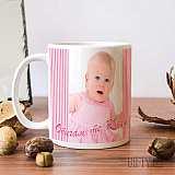 Чаша с бебешка или детска снимка на клиента