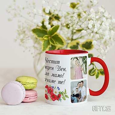 Чаши със снимка или надпис - чаша с ваша снимка