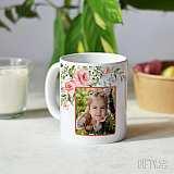 Чаша със снимка за баба - подарък за жена