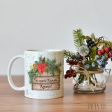 Коледна чаша за кафе с име по избор за подарък в Gifty.BG