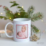 Коледни чаши със снимка за подарък в Gifty.BG