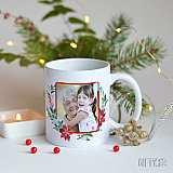 Магическа Коледна чаша със снимка