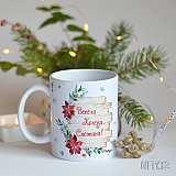 Персонализирана Коледна чаша за подарък в Gifty.BG