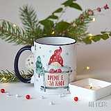 Забавна Коледна чаша за кафе