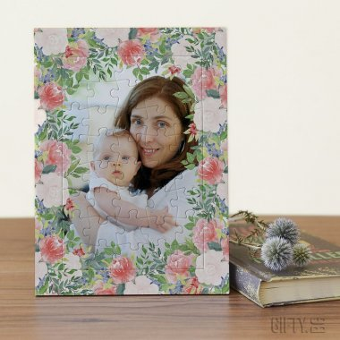Фото пъзел с ваша снимка по поръчка за подарък в Gifty.BG