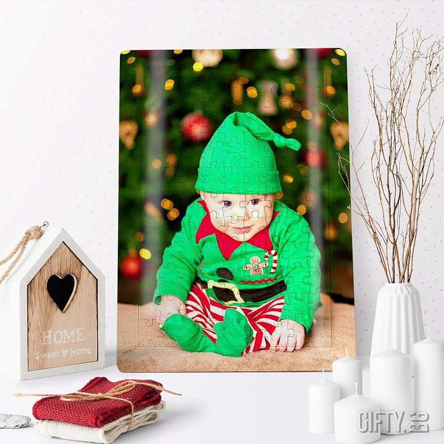 Коледен пъзел със снимка за подарък в Gifty.BG